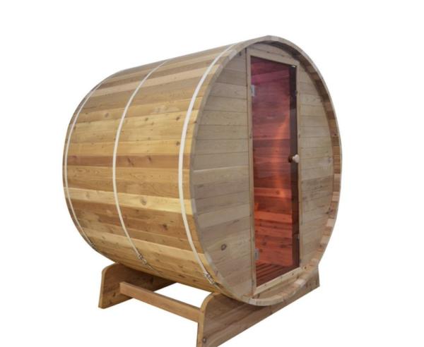 Fass Sauna - Infrarotsauna - 3 - 4 Personen 150cm_2