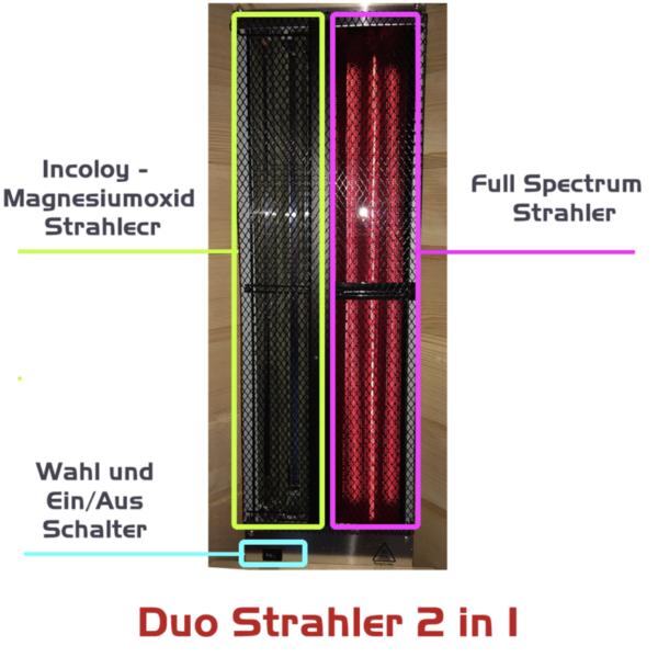 Dualstrahler Infrarot