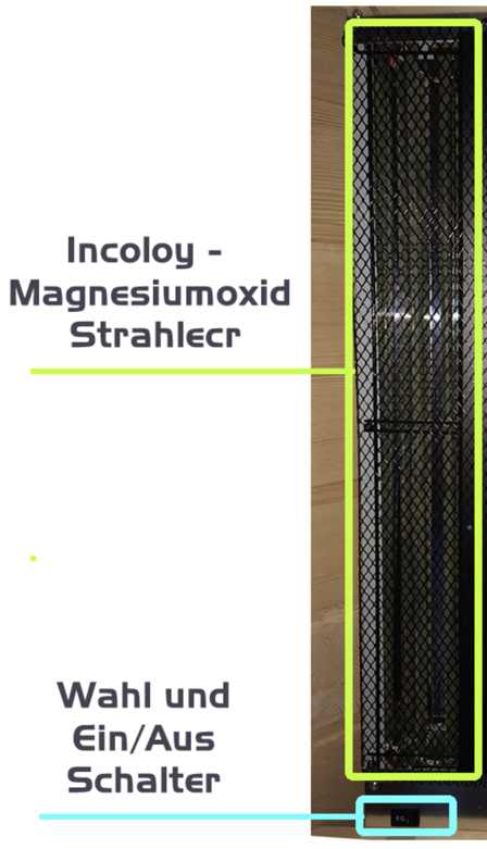 Incoloy – Magnesium Oxid Strahler