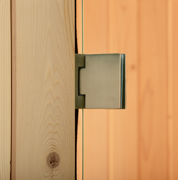 Fass Sauna Tür Scharniere