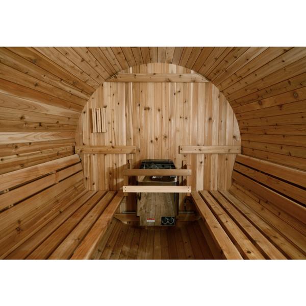 Fass Sauna traditionell 4 Personen Almost Heaven Pinnacle_innen