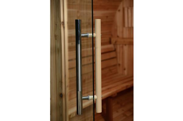 Fass Sauna Tür