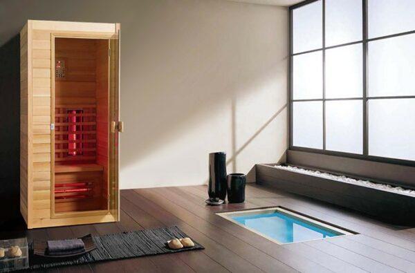 Infrarot Sauna Classic 1 Person-3