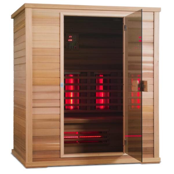 Infrarot Sauna Classic 3 Personen-1000