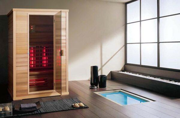 Infrarot Sauna Classic 3 Personen-base