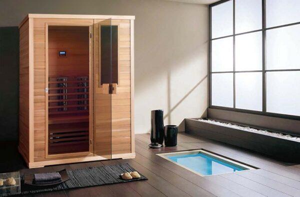 Infrarot Sauna Classic 4 - 3 Personen-base