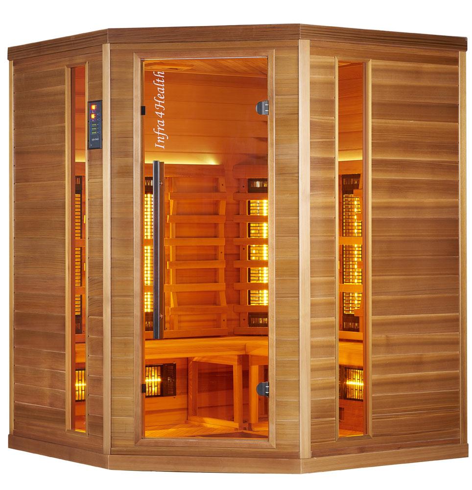 Infrarot Sauna für Zuhause 4 Personen