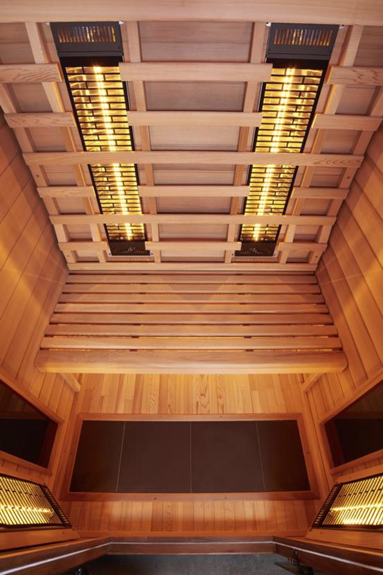 Infrarot Sauna 2 Personen Infra 4 Health_innen1