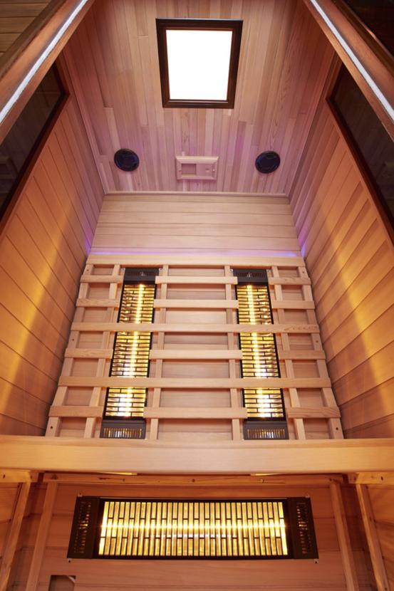 Infrarot Sauna 2 Personen Infra 4 Health_innen2
