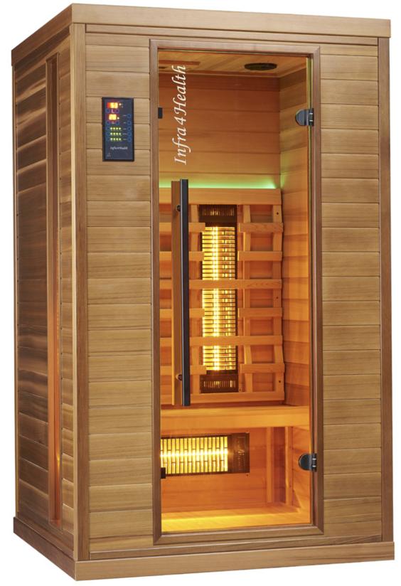 Infrarot Sauna 2 Personen Infra 4 Health_vorn3