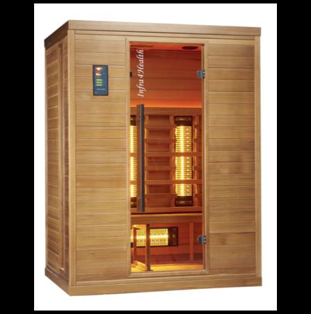 Infrarot Sauna 3 Personen Infra 4 Health_Produktbild