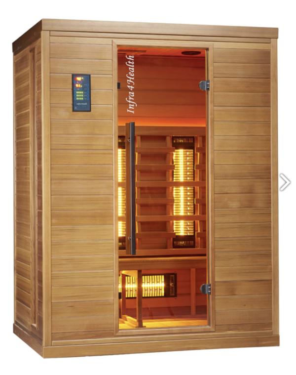 Infrarot Sauna 3 Personen Infra 4 Health_vorn