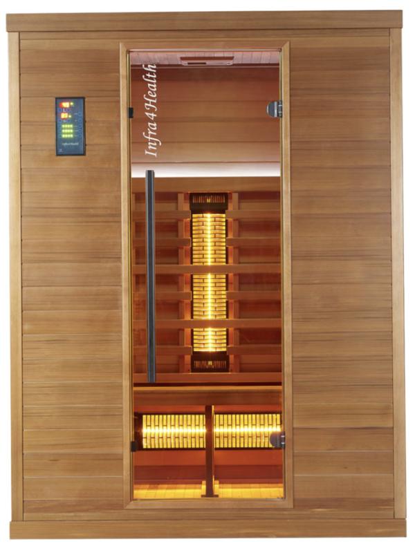 Infrarot Sauna 3 Personen Infra 4 Health_vorn2