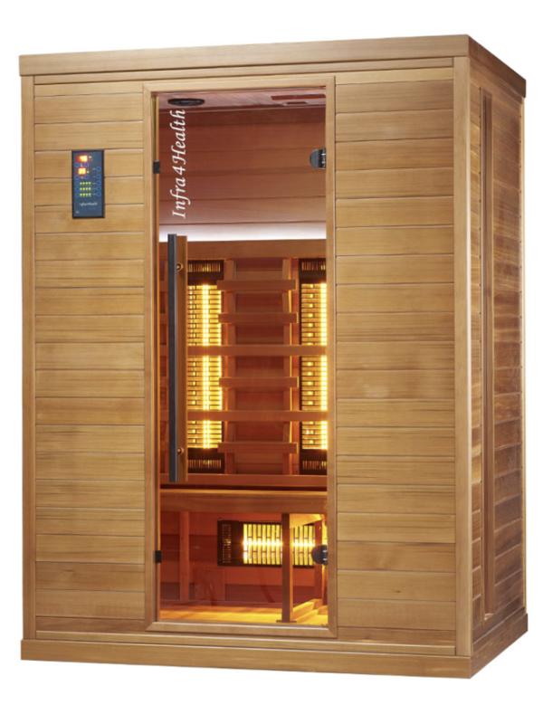 Infrarot Sauna 3 Personen Infra 4 Health_vorn3