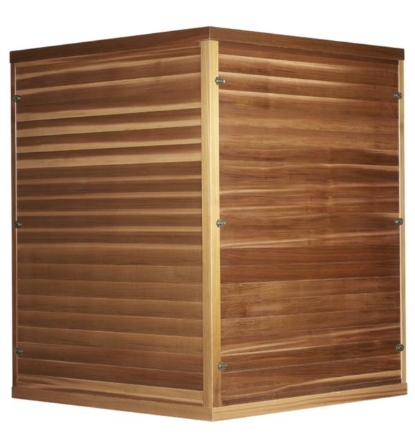 Infrarot Sauna 4 Personen Infra 4 Health_hinten