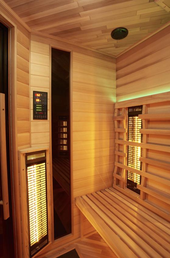 Infrarot Sauna 4 Personen Infra 4 Health_innen