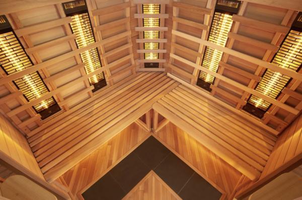 Infrarot Sauna 4 Personen Infra 4 Health_innen3