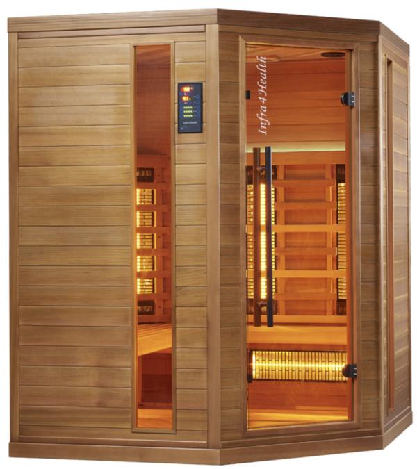Infrarot Sauna 4 Personen Infra 4 Health_vorn2