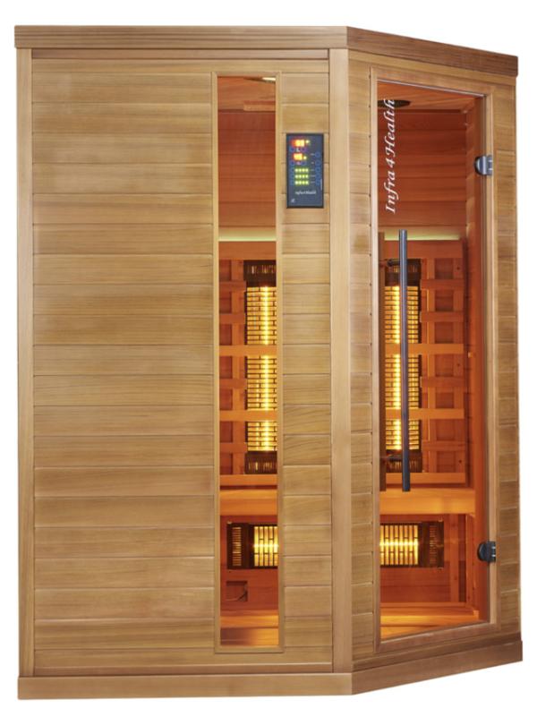 Infrarot Sauna 4 Personen Infra 4 Health_vorn3