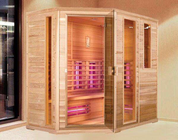 Infrarot Sauna Classic 5 - 7 Personen links