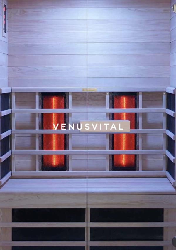 Infrarotsauna 2 Personen VenusVital _innen